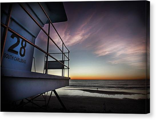 Lifeguard Tower Series - 21 Canvas Print