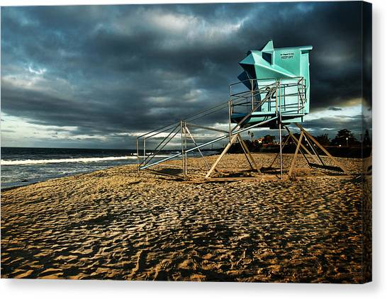 Lifeguard Tower Series - 9 Canvas Print