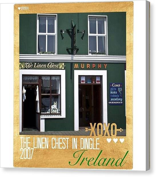 European Canvas Print - @life_in_ireland Posted A Picture Of by Teresa Mucha
