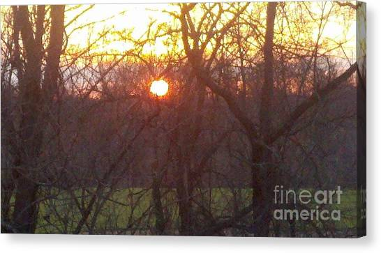 Light At Sunrise Canvas Print
