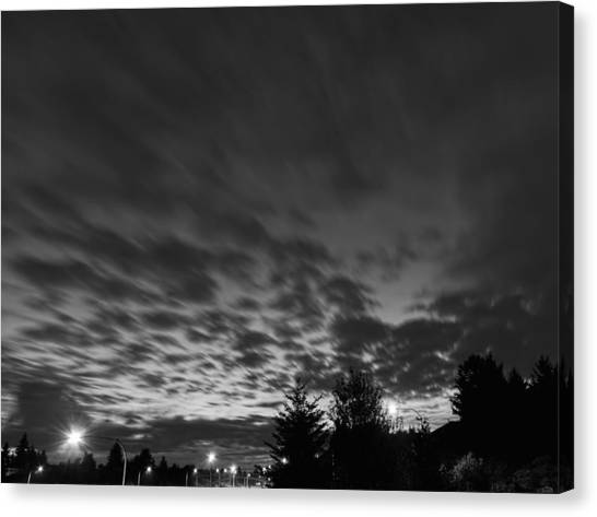 Dawn Over The Highway Canvas Print