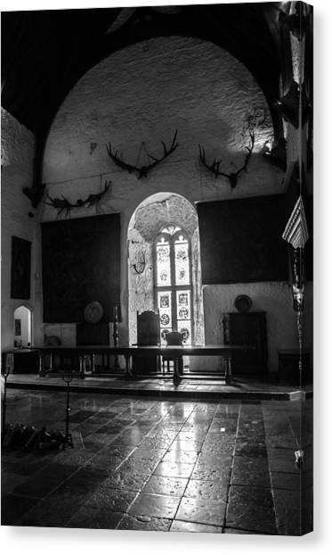Landmark Canvas Print - Light Behind The Throne by AMB Fine Art Photography
