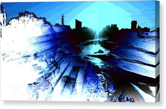 Light Canvas Print by David Alvarez