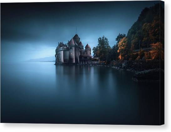 Medieval Canvas Print - Light Fortification 2. by Juan Pablo De