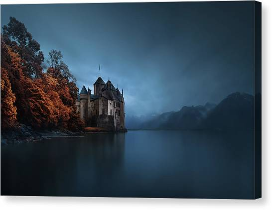 Fantasy Canvas Print - Light Fortification. by Juan Pablo De