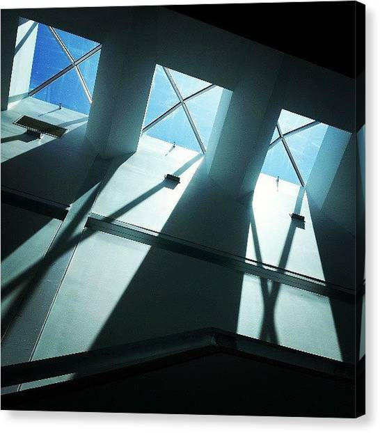 University Of Florida Canvas Print - Light From Above by Lynn Palmer