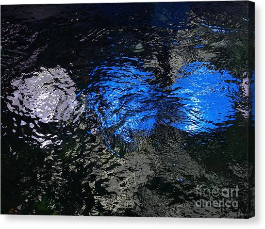 Light From Below Canvas Print