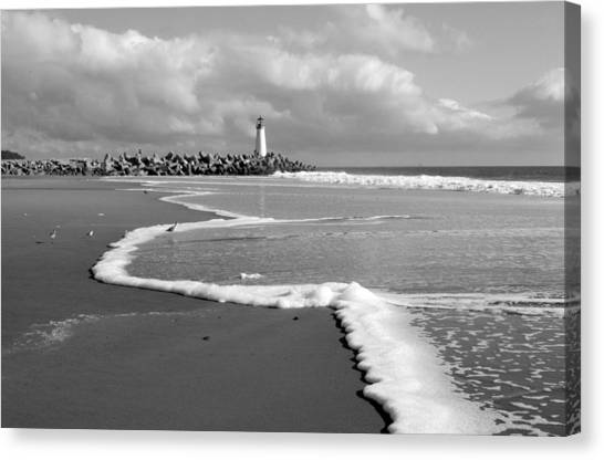 Santa Cruz - Light House Canvas Print