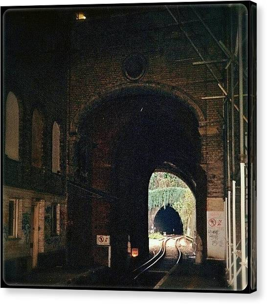 Victorian Canvas Print - Light In Between Two Tunnels by Alexandra Cook