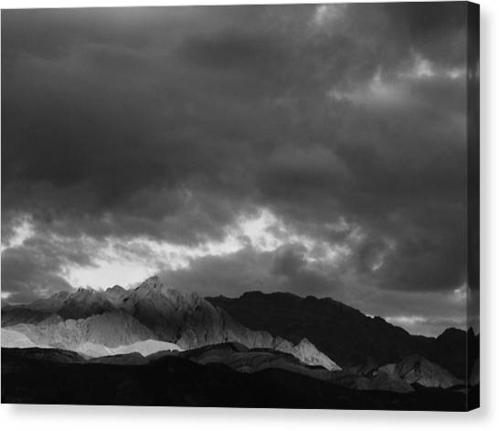 Light In The Mountains Canvas Print by Jenny Fish