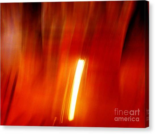 Light Intrusion Canvas Print