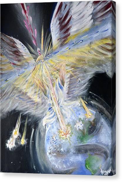 Light Of Awakening Canvas Print