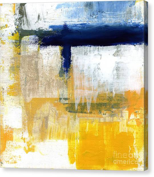 Abstract Designs Canvas Print - Light Of Day 2 by Linda Woods