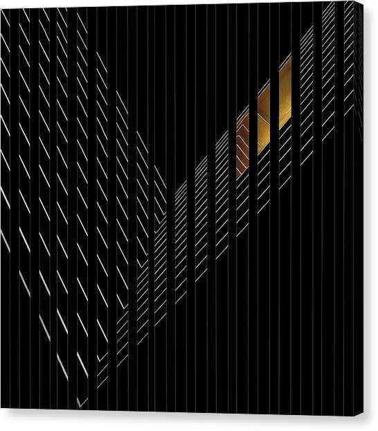 Light Rail Canvas Print - Light Rail by Gilbert Claes