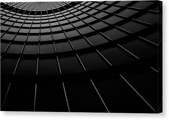 Grid Canvas Print - Light Rails by Henry Zhao