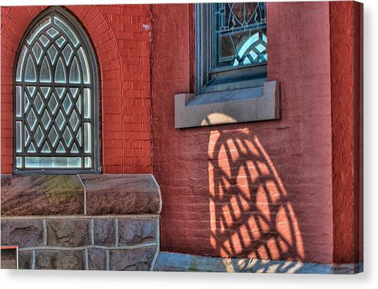 Light Shadows And Reflections Canvas Print