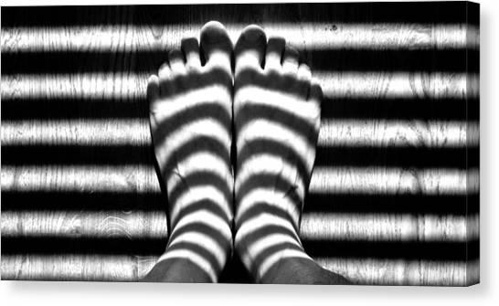 Light Socks Canvas Print