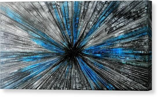 Warped Canvas Print - Light Speed by John Henne