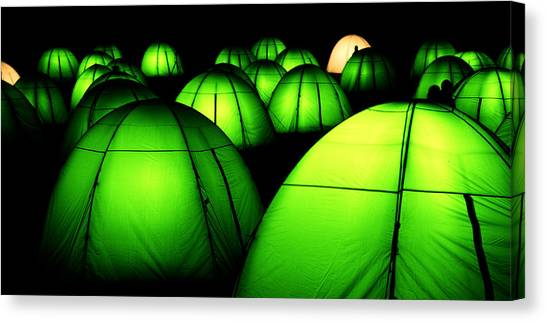 Light Tents Variation Five Canvas Print