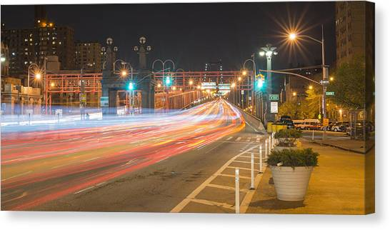 Light Traffic Canvas Print