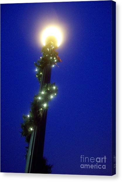 Light Up The Holidays Canvas Print