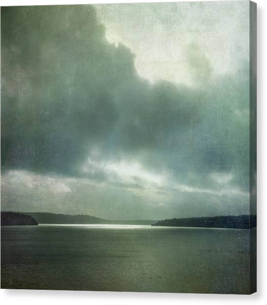 Light Within The Storm Canvas Print