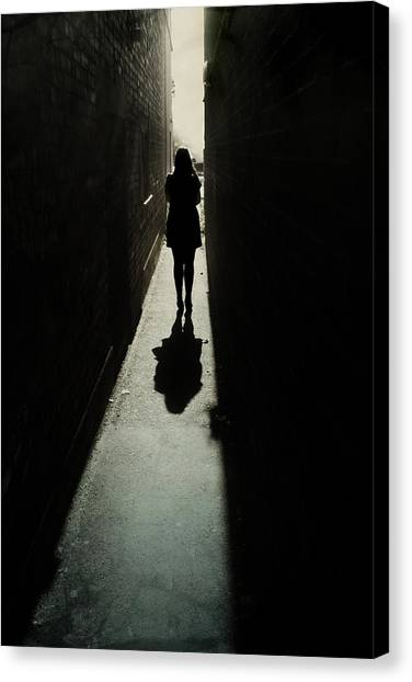 Anxious Canvas Print - Light by Cambion Art
