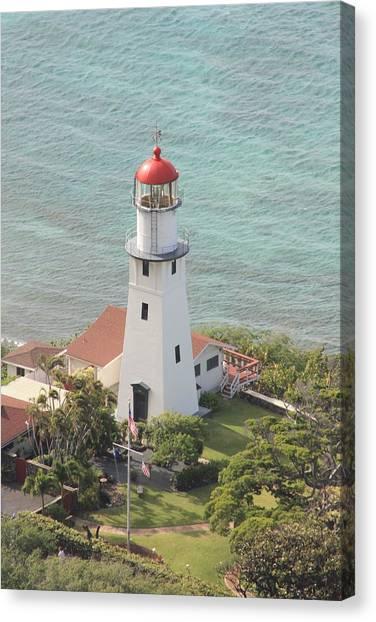 Lighthouse Canvas Print by Adam Levine