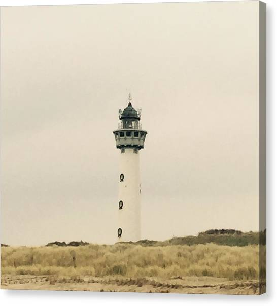 Still Life Canvas Print - Lighthouse Netherlands by Photosaslt Shop