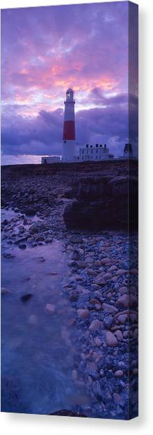 Portland Lighthouse Canvas Print - Lighthouse On The Coast, Portland Bill by Panoramic Images
