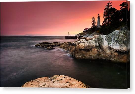 Vancouver Island Canvas Print - Lighthouse Park by Alexis Birkill