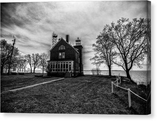 Lighthouse Put-in-bay Canvas Print