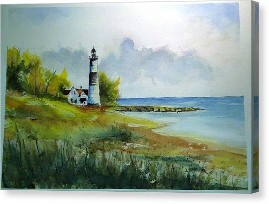 Lighthouse Sold Canvas Print