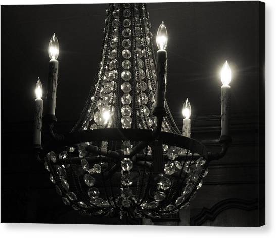 Lighting The Dark Canvas Print by Paulette Maffucci