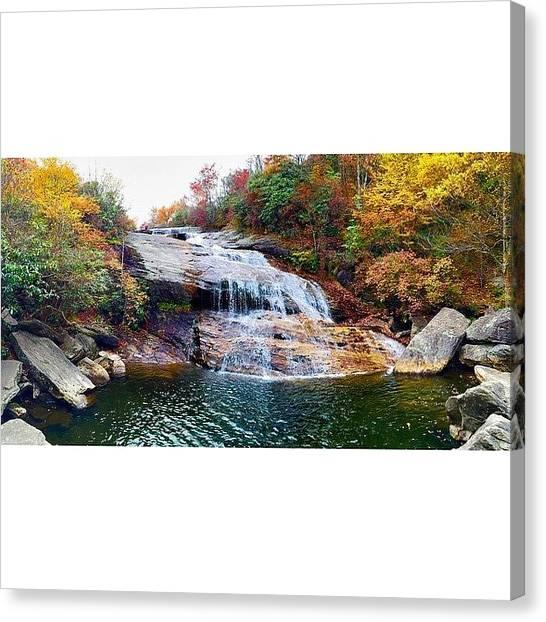 Appalachian Mountains Canvas Print - Lightly Seasoned by Simon Nauert