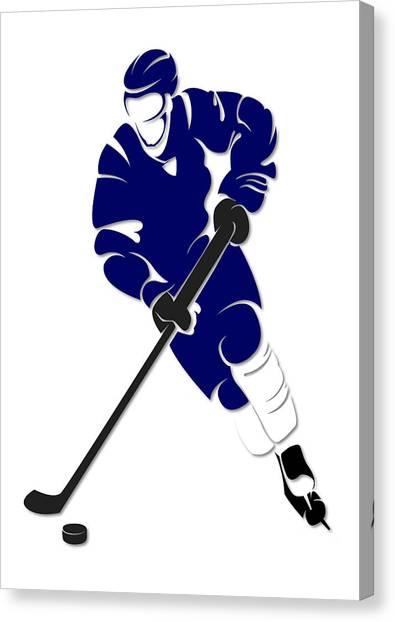 Tampa Bay Lightning Canvas Print - Lightning Shadow Player by Joe Hamilton