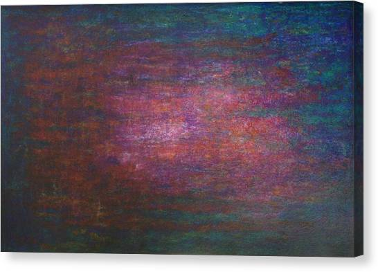 Canvas Print featuring the painting Lightpicture 342 by SOBATA Satosi