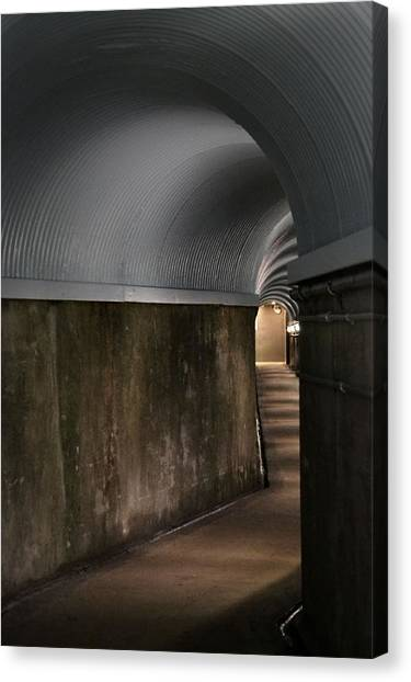 Lights At The End Of The Tunnel Canvas Print