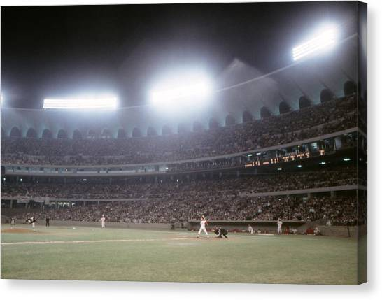 St. Louis Cardinals Canvas Print - Busch Stadium by Retro Images Archive