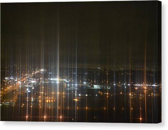 Light's Sound Waves Canvas Print by Naomi Berhane