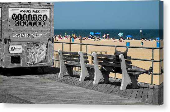 Like A Day At The Beach Canvas Print