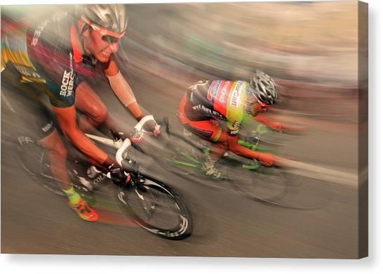 Belgium Canvas Print - Like A Flash by Lou Urlings
