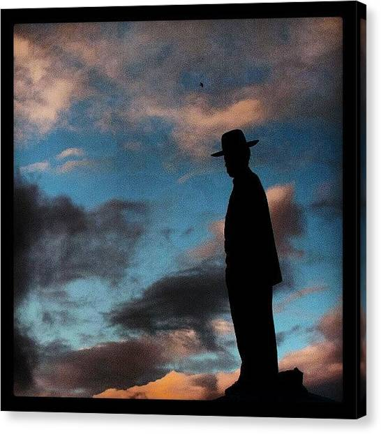 Israeli Canvas Print - Like Magritte by Erez Ben Simon