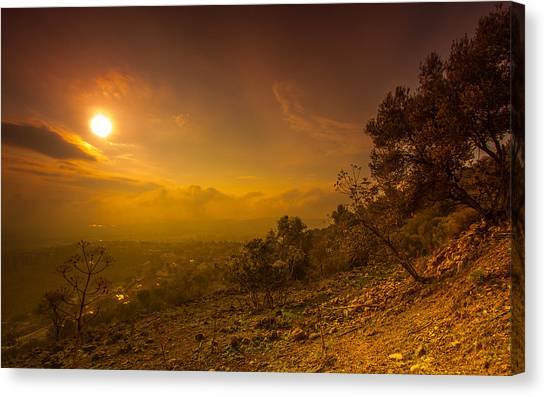 Like Martian View Canvas Print