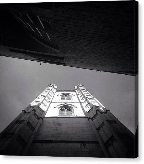 Wrens Canvas Print - Tower Of St Mary's by Marc Gascoigne