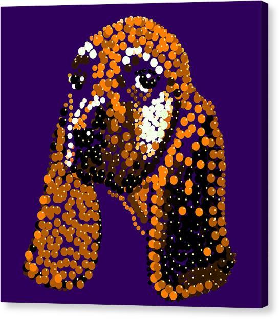 Li'l Jill Bedazzled Canvas Print