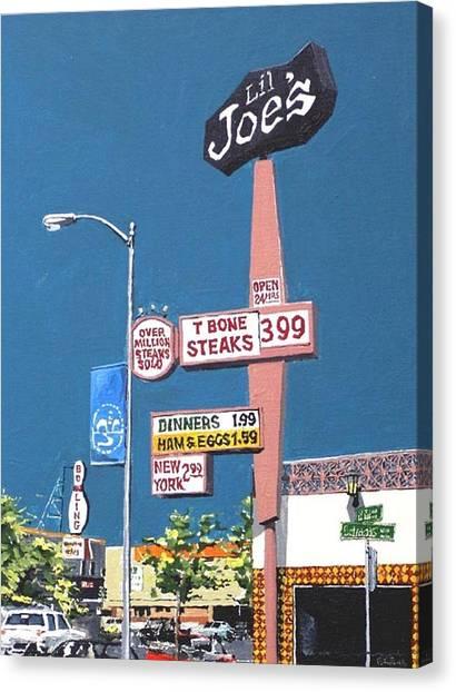 Li'l Joe's Canvas Print by Paul Guyer