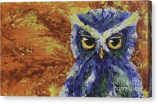Midnite Canvas Print - Lil Snap by Lovejoy Creations