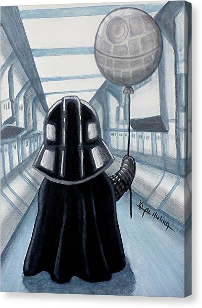 Lil Vader Dreams Big Canvas Print