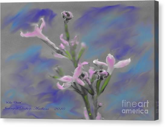 Lilac Dream Canvas Print by Jennifer Lesher - Arellano